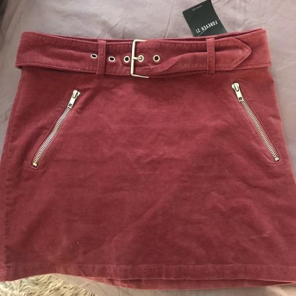 Forever 21 Dresses & Skirts - Suede Mini Skirt